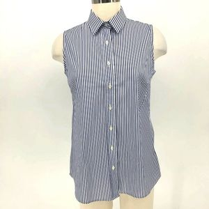 The-Shirt Rochelle Behrens Top Women Size M Stripe
